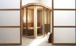 sauna Round Vision